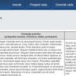 Izvos u PDF i ispis